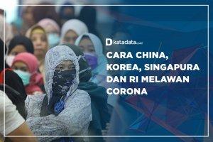 Cara China, Korea, Singapura dan RI Melawan Corona