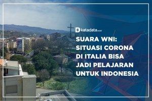 Suara WNI: Situasi Corona Italia Bisa Jadi Pelajaran di Indonesia