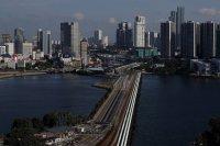 Pemandangan Kota Singapura