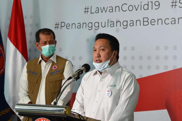 INDY ADRO Adaro dan Indika Bantu Dana Pemerintah untuk Tangani Virus Corona - Berita Katadata.co.id