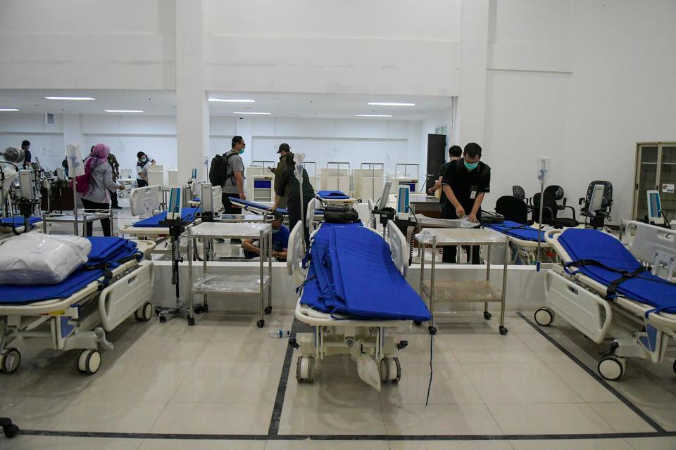 RS Darurat Corona Wisma Atlet Hingga Kini Sudah Tampung 208 Pasien .