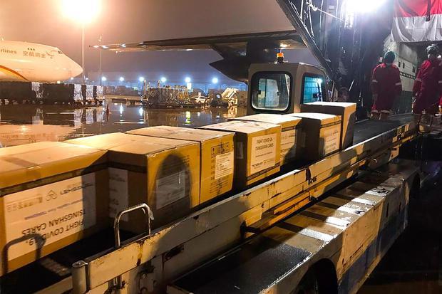 Ilustrasi, kargo pesawat. PT Angkasa Pura Logistik menyewa tiga pesawat dari Pelita Air Services untuk menjalankan bisnis air freight atau penerbangan kargo.