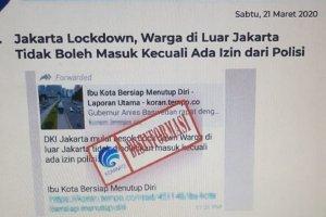 Kominfo Cap Hoaks Informasi Mengenai Jakarta Lockdown