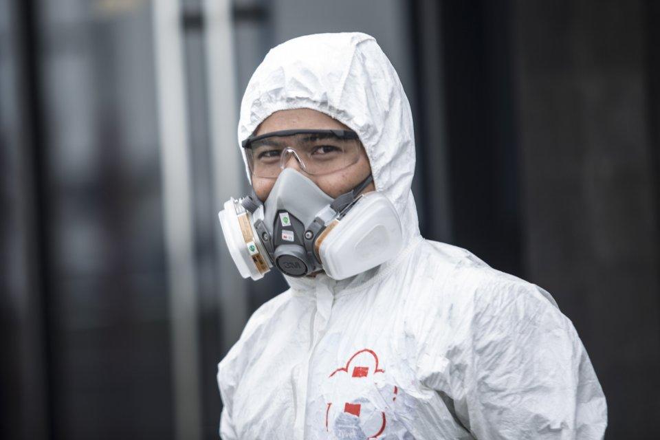 pandemi corona, jakarta, bantuan corona, tenaga medis, virus corona