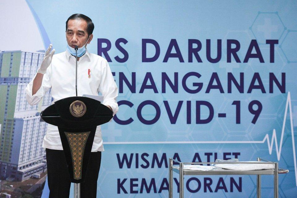 Jokowi, Pandemi Corona, Covid-19, Virus Corona