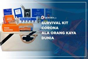 Survival Kit Corona Ala Orang Kaya Dunia