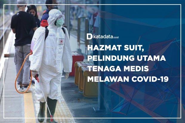 Hazmat Suit, Pelindung Utama Tenaga Medis Melawan Covid-19