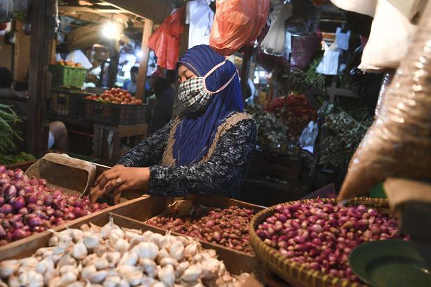 BPS, inflasi, deflasi, kenaikan harga barang