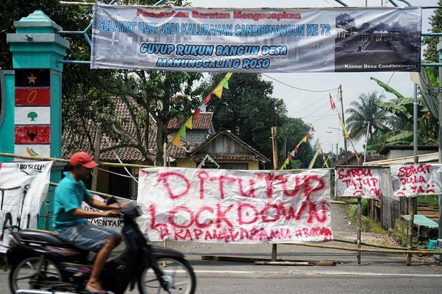 Melihat Praktik Lockdown Corona di Tegal dan Wilayah Lain