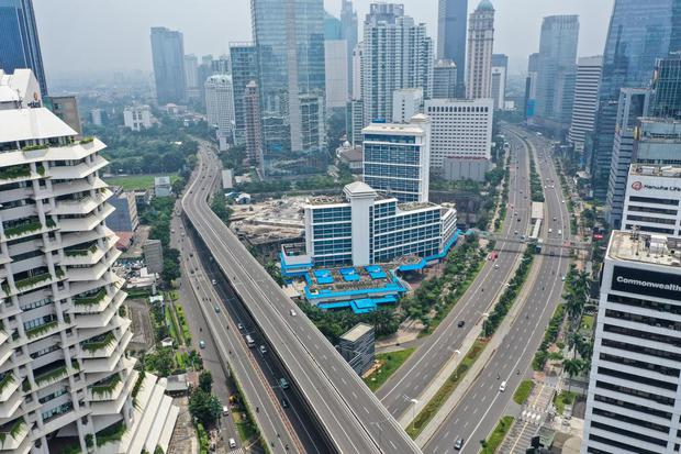pandemi corona, virus corona, covid-19, Jakarta, lockdown