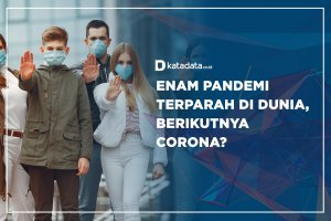Enam Pandemi Terparah di Dunia, Berikutnya Corona?