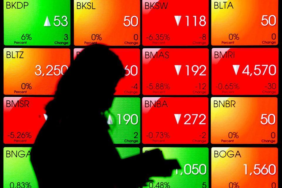 saham, bursa, amerika serikat, tiongkok, IHSG