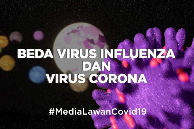 Beda Virus Influenza dan Virus Corona