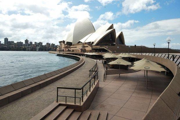 Sydney Senyap Jelang Lockdown