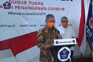 Juru bicara penanganan nasional Covid-19 Achmad Yurianto