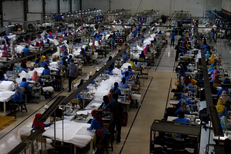 Pemerintah Pasang Strategi Pemulihan Industri Manufaktur Pasca PSBB.