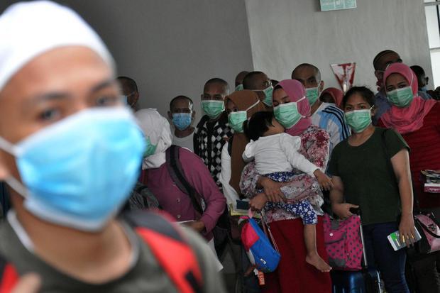 TKI, covid-19, virus corona, pandemi corona, pandemi, jakarta, gerakan 3M