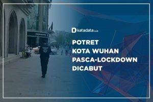 Potret Kota Wuhan Pasca-Lockdown Dicabut