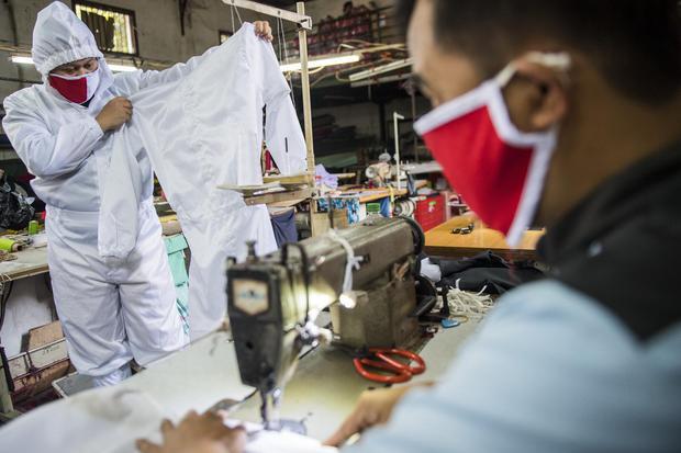 industri tekstil, kemenperin, pandemi corona, alat pelindung diri apd, masker