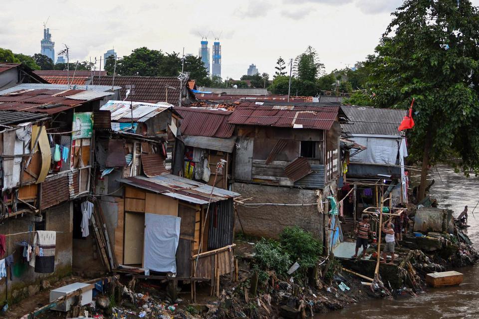 Jumlah Keluarga Sangat Miskin di Jakarta Meningkat saat Pandemi Corona.