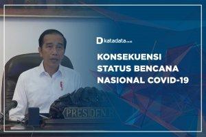 Konsekuensi Status Bencana Nasional Covid-19