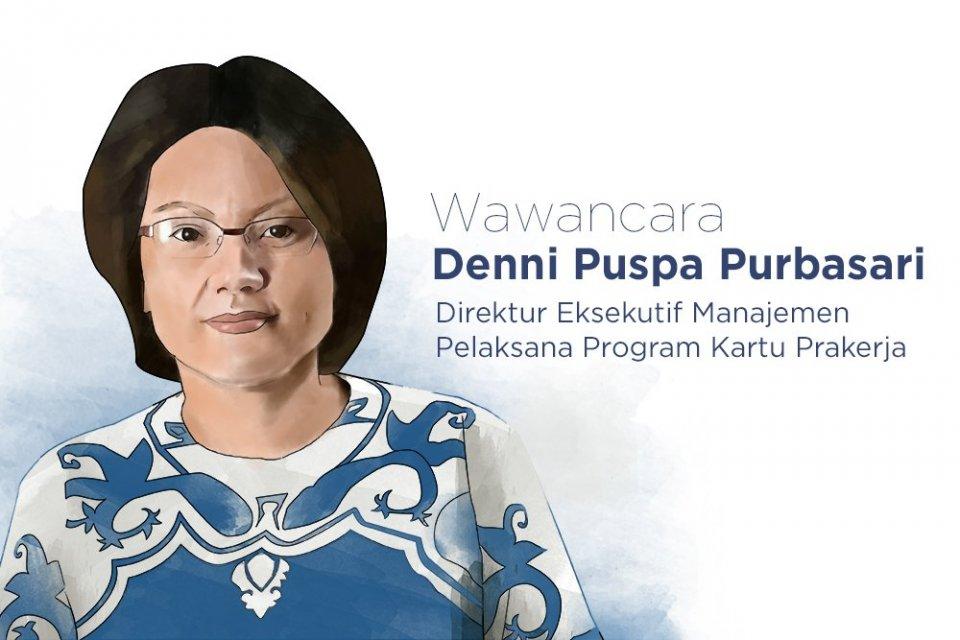 Direktur Ekesekutif Manajemen Pelaksana Program Kartu Prakerja Denni Puspa Purbasari