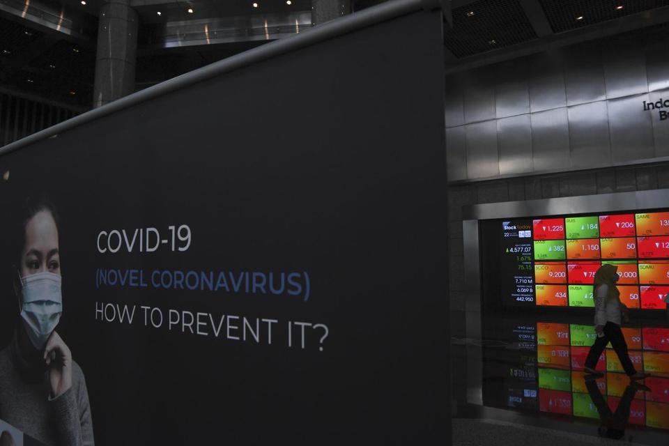 virus corona, bursa saham asia, ihsg, amerika serikat, tiongkok,