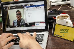 PENINGKATAN TRAFIK DATA INTERNET INDONESIA