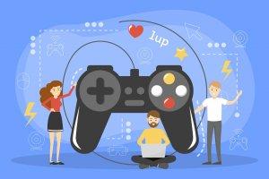Ilustrasi game developer