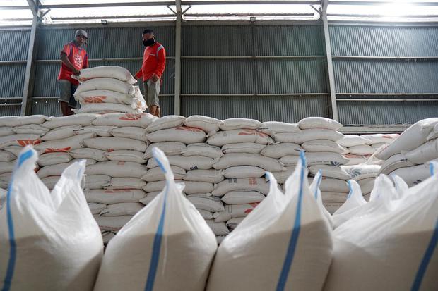 beras, stok beras, acaman ketahanan pangan
