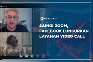 Saingi Zoom, Facebook Luncurkan Layanan Video Call