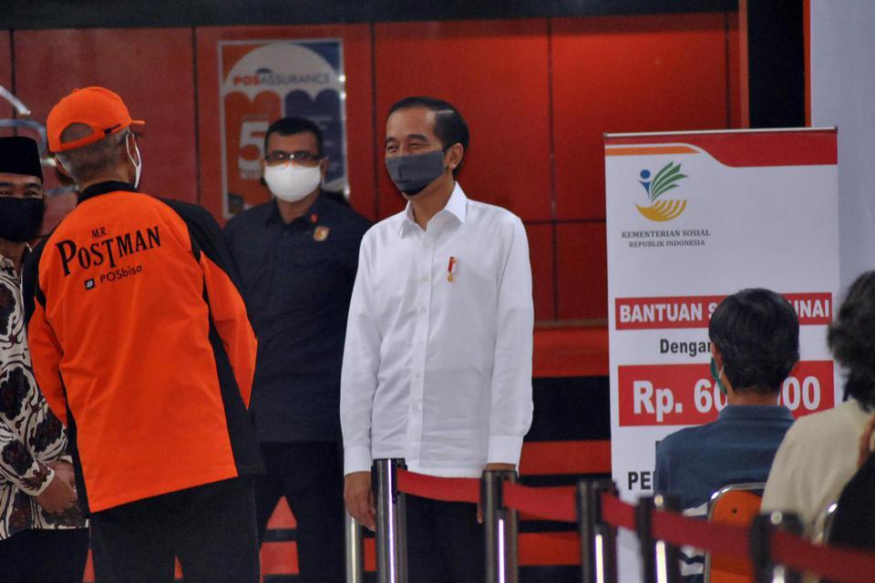 Jokowi, Eijkman, genom virus corona,