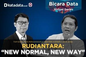 Bicara Data Rudiantara: New Normal, New Way