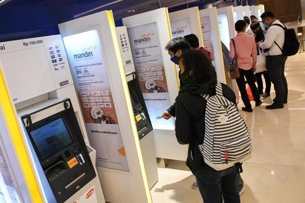 digital banking, bank mandiri, pandemi corona, phk karyawan