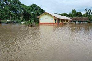 Banjir di Oku Selatan