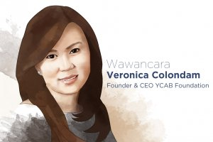 Veronica Colondam, Founder dan CEO YCAB Foundation