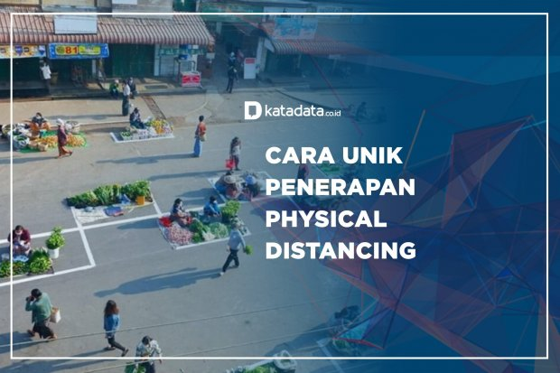 Cara Unik Penerapan Physical Distancing