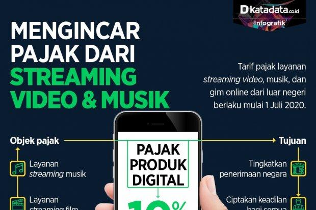 Mengincar pajak dari streaming video