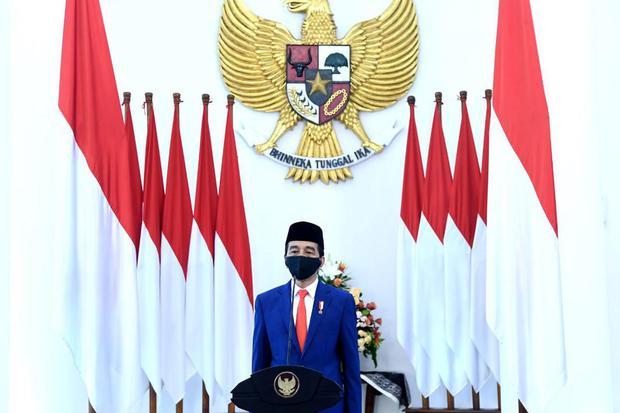 Ilustrasi, Presiden Joko Widodo (Jokowi). YLBHI menyebut, vonis Hakim PTUN membuktikan Presiden dan Menkominfo telah melanggar hukum karena memblokir akses internet di Papua sehingga tetap perlu meminta maaf.