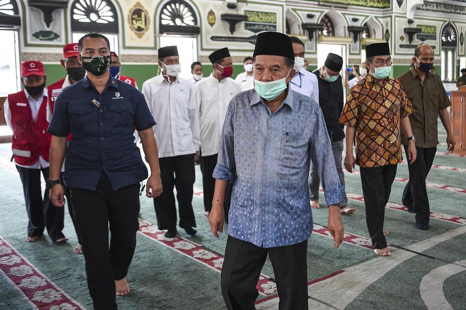 JK, new normal, masjid, PSBB, Jokowi, Anies