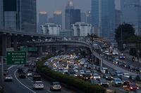 KEMACETAN SAAT PSBB TRANSISI JAKARTA