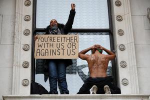 MINNEAPOLIS-POLICE/PROTESTS-BRITAIN