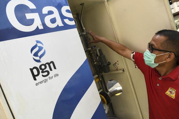 PGN, PGAS, efisiensi, harga gas, archandra tahar