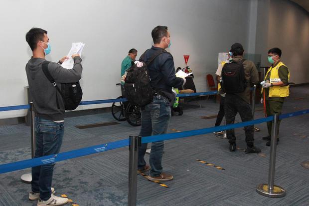Bandara Soetta Siapkan Jalur Khusus Bagi Penumpang Pemegang Tes PCR.