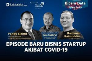 Bicara Data: Episode Baru Bisnis Startup Akibat Covid-19