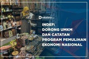 Indef: Dorong UMKM dan Catatan Program Pemulihan Ekonomi Nasional