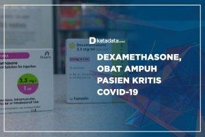Dexamethasone, Obat Ampuh Pasien Kritis Covid-19