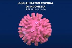 TERBARU: Kasus Corona di Indonesia per Jumat, 19 Juni 2020