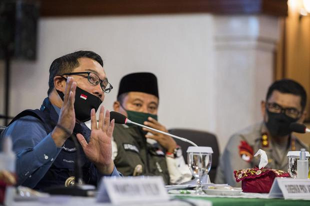 Pandemi Corona, Covid-19, Ridwan Kamil, Jawa Barat, Pariwisata, Satgas Covid-19, Gerakan 3 M.