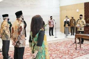 Pelantikan Lima Deputi KSP